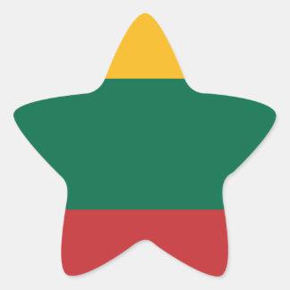 Lituania Star Sticker