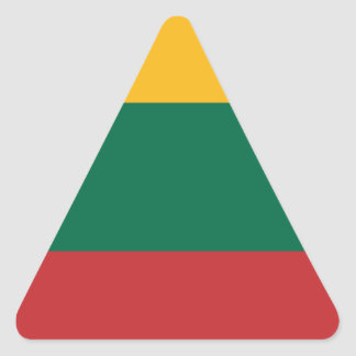 Lituania Triangle Sticker