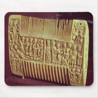Liturgical comb, School of St.Albans, c.1120 Mouse Pad