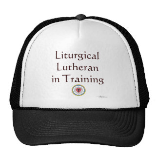 Liturgical Lutheran in Training Mesh Hat
