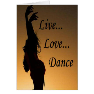 Liv Love Dance Card