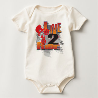 LIVE-2-RIDE-BMX BABY BODYSUIT