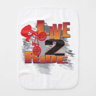 LIVE-2-RIDE-BMX BURP CLOTH