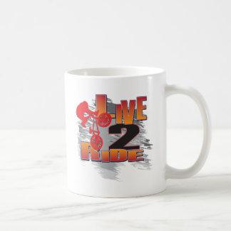 LIVE-2-RIDE-BMX COFFEE MUG
