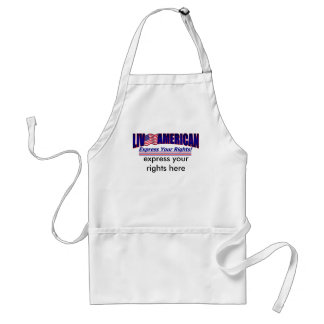 Live American Express Your Rights Customize Standard Apron