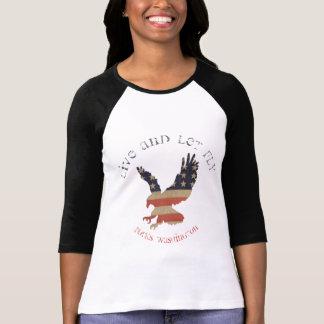 Live And Let Fly Forks, Washington Eagle Shirt