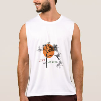 Live and Let Live (Recovery Silhouettes) Singlet