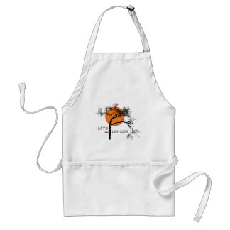 Live and Let Live (Recovery Silhouettes) Standard Apron