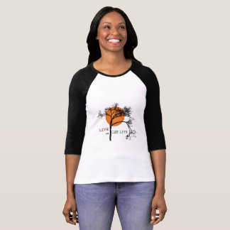Live and Let Live (Recovery Silhouettes) T-Shirt