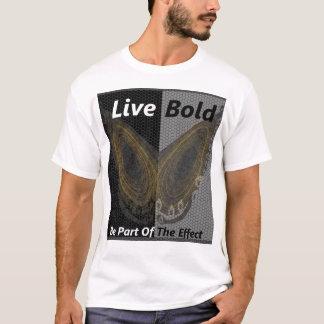 Live Bold: Butterfly Effect T-Shirt