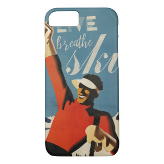 Live breathe ski iphone 7 case
