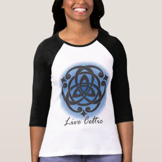 Live Celtic Tee - Blue