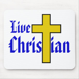 Live Christian Mouse Pad
