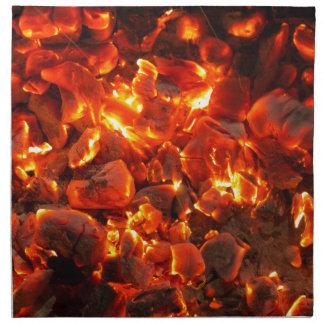 Live Coals Napkin