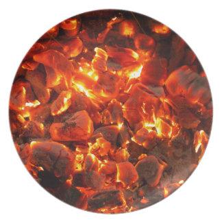 Live Coals Plate