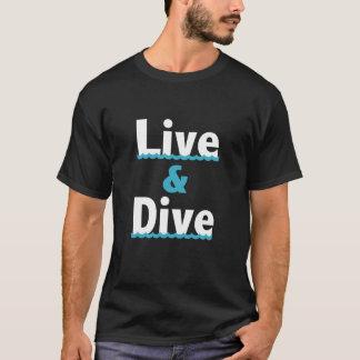 """Live & Dive"" Diving T-Shirt"