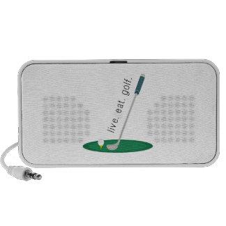 Live Eat Golf iPhone Speakers