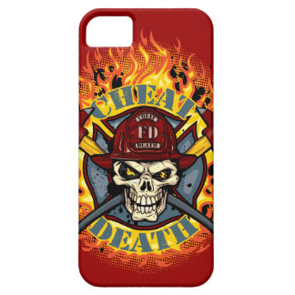 Live Everyday Cheat Death Firefighter iPod Case