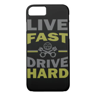 LIVE FAST DRIVE HARD JDM iPhone 7 CASE