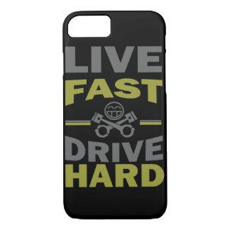 LIVE FAST DRIVE HARD JDM iPhone 7 CASE