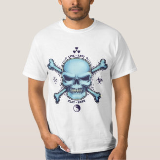 Live Fast, Play Hard T-shirts
