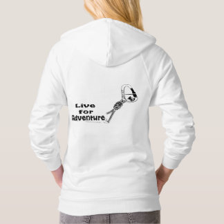 Live for adventure hoody