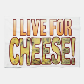Live For Blue Cheese Tea Towel