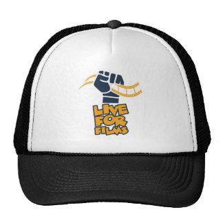 Live for Films Fist Logo Trucker Hat