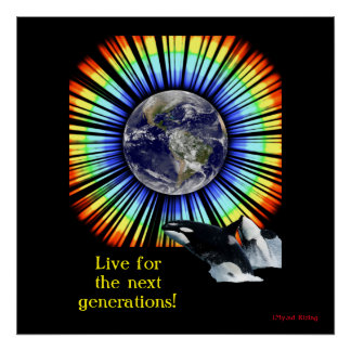 Live for the next generations! poster