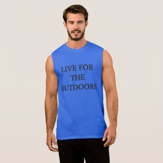 Live for the outdoors Mens Tank