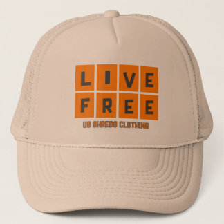 LIVE FREE HAT