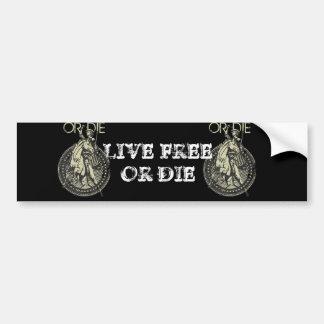 Live Free or Die! Bumper Sticker