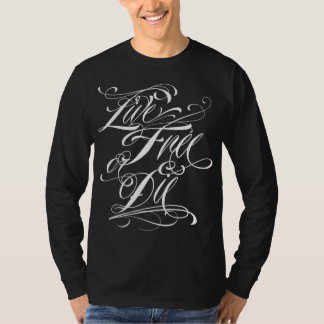 Live Free Or Die Customizable Script Tops