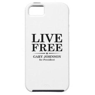 LIVE FREE TOUGH iPhone 5 CASE