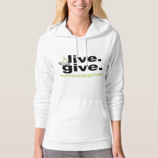 live. give. hoodie (light)