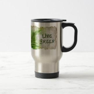 LIVE GREEN Eco Enviro Travel Mug for Earth Day