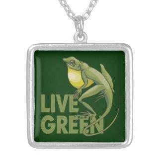 Live Green, Lizard Jewelry