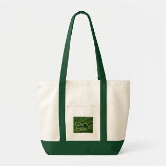 Live Green Lizard Tote Tote Bag