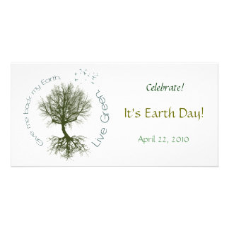Live Green Picture Card