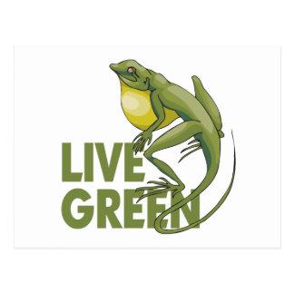 Live Green Postcards