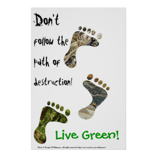 Live Green! poster