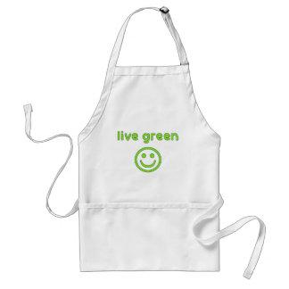Live Green Pro Environment Eco Friendly Renewable Standard Apron