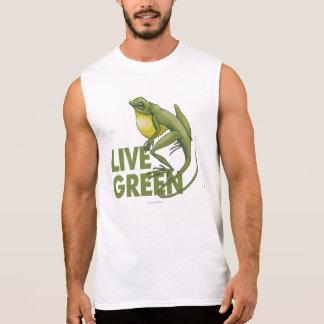 Live Green Sleeveless Shirt
