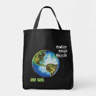 Live Green Tote Bag