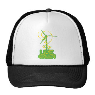 Live Green Wind Power Hats