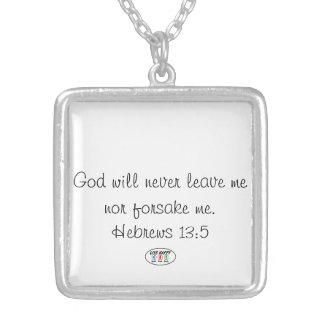 LIVE HAPPY Spirit Soul Body Silver Plated Necklace