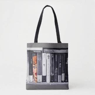 Live in Books Tote Bag