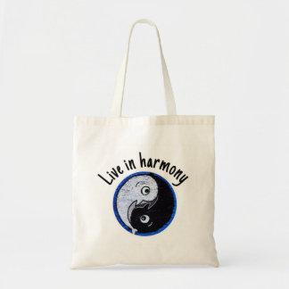 Live in Harmony Tote Bag