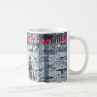 live in humility coffee mug