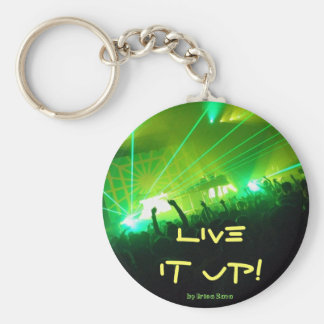 Live it up! key ring